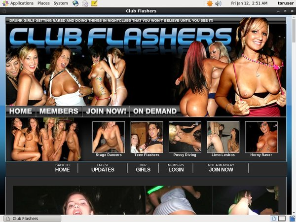 Acc Club Flashers