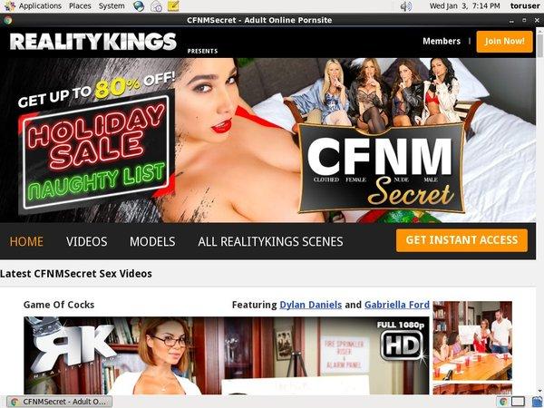 Cfnmsecret.com Sale