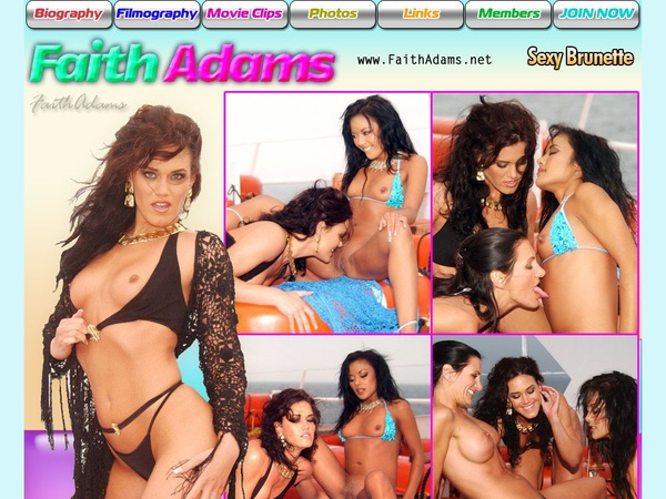 Faithadams.net Account Gratis