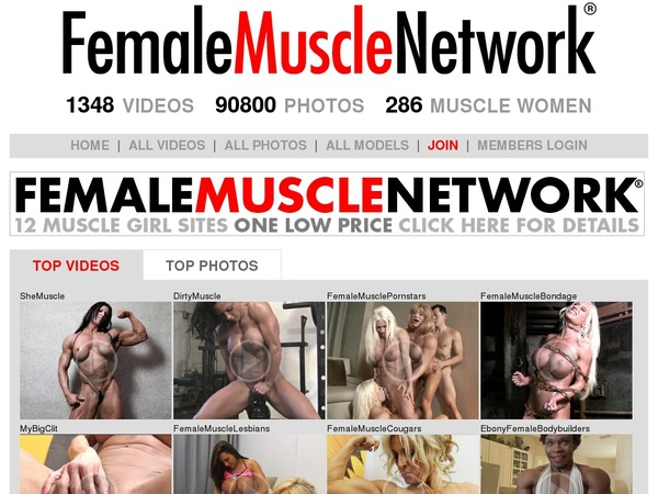Female Muscle Network With Bank Pay