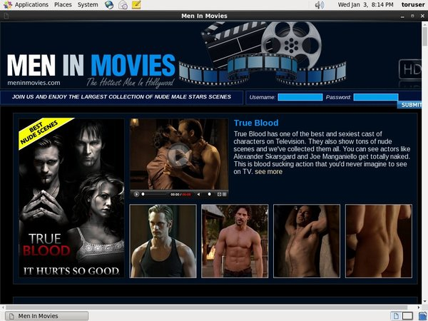 Free Account Men In Movies