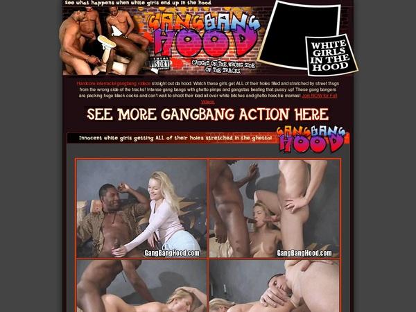 Gang Bang Hood Checkout Form