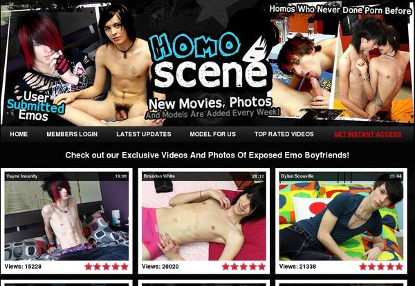 Homoscene.com With Direct Debit