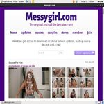 Messy Girl Account Password