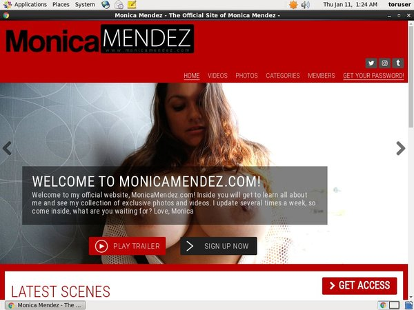 How To Get Into Monica Mendez