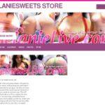 Melanie Sweets Full Website