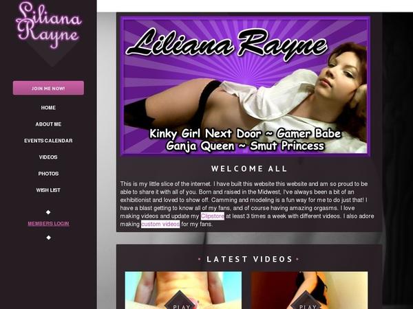 LilianaRayne Mit IBAN / SEPA