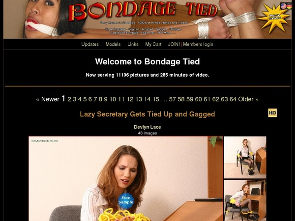 Bondagetied Free Account Password