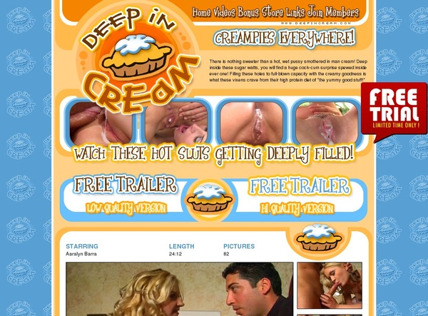 Free Deepincream Account New