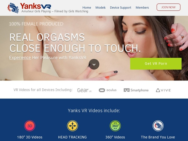 Yanks VR Free Acount