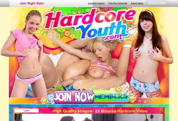 Hardcoreyouth Renew Subscription