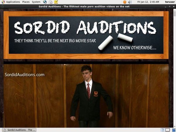 Sordid Auditions Free Movies