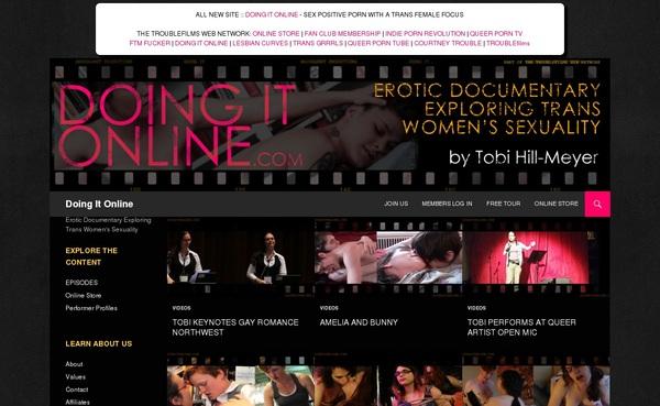 Doing It Online Full Site