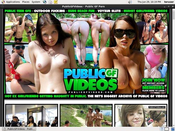 Public GF Videos Porn