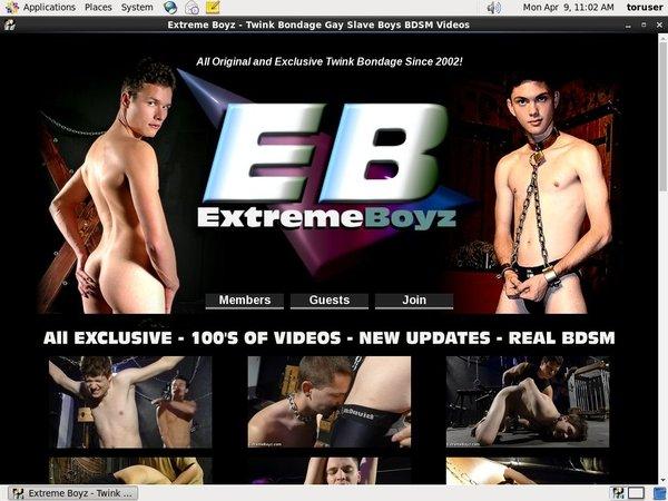 Extremeboyz Website Password