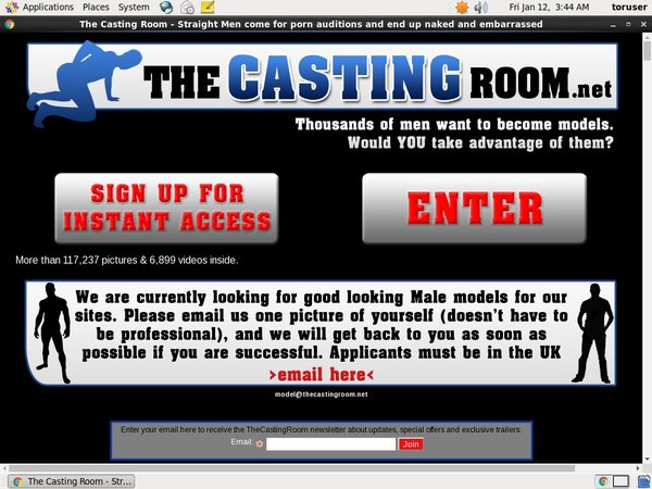 The Casting Room Special Deal