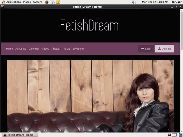 Fetish Dream With Pay Pal