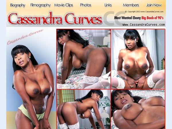 Cassandracurves.com Porn Site