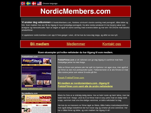 Nordic Members Working Account